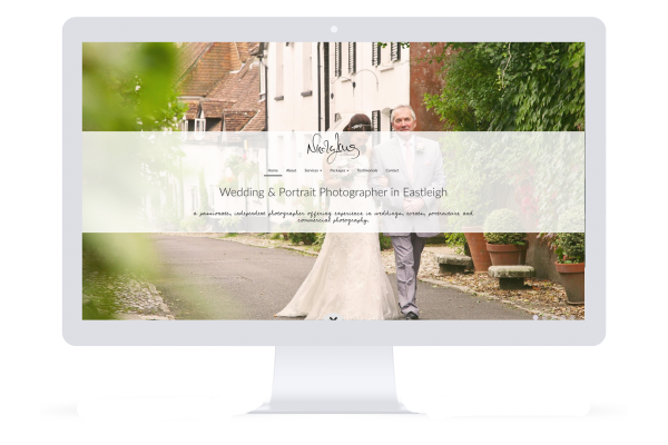 Nicola Lang Photography website made by Smart Little Web