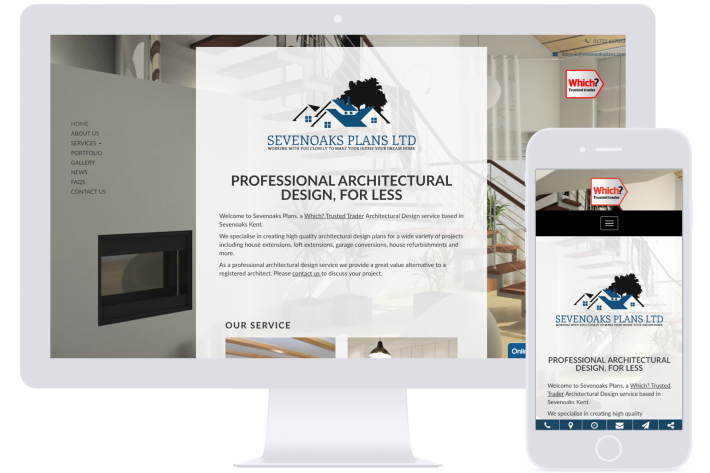 Modern website design Hampshire